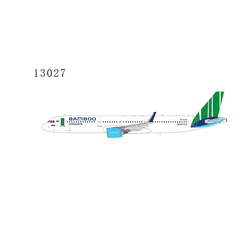 NG Model Bamboo Airways A321neo VN-A589 13027 1:400